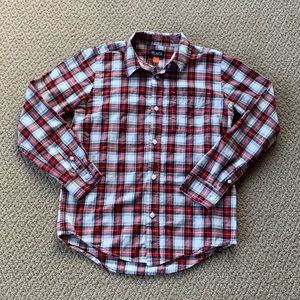 Children's Place Plaid Button Down